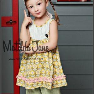 Matilda Jane peaches & cream dress serendipity
